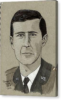 George W. Bush Canvas Print
