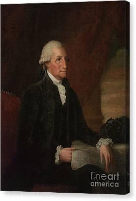 Founding Fathers Canvas Print - George Washington by Edward Savage