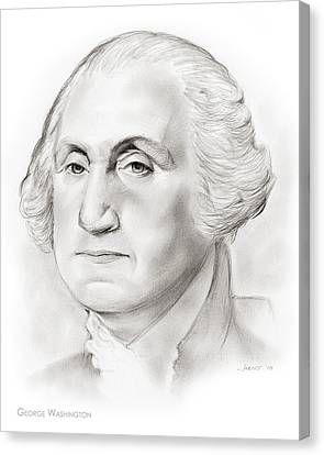George Washington Canvas Print by Greg Joens