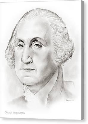 George Washington Canvas Print
