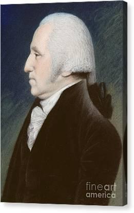 Statesman Canvas Print - George Washington by James Sharples