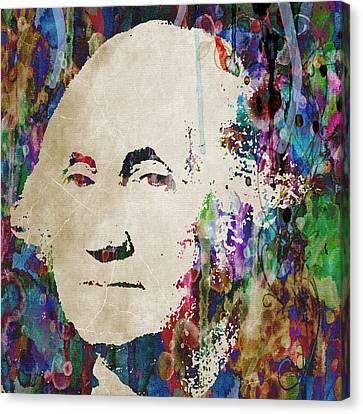George Washington President Art Canvas Print
