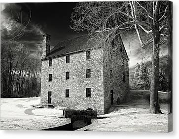 George Washingtons Gristmill Canvas Print