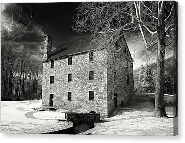 George Washingtons Gristmill Canvas Print