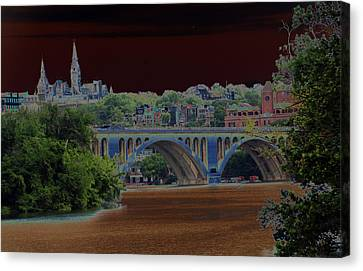 Georgetown5523 Canvas Print by Carolyn Stagger Cokley