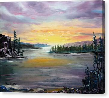Georgian Bay Sunset Canvas Print