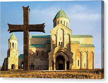 Georgian Cathedral Canvas Print by Svetlana Sewell
