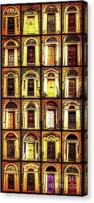 Georgian Doors Of Dublin 4 Canvas Print