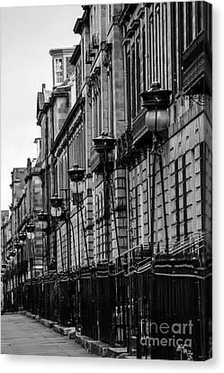 Edinburgh New Town Canvas Print by SnapHound Photography