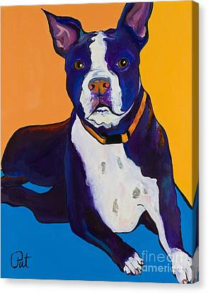 Commissions Canvas Print - Georgie by Pat Saunders-White