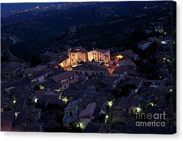 Canvas Print featuring the photograph Gerace by Bruno Spagnolo