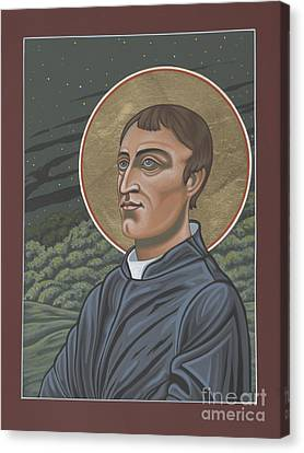 Gerard Manley Hopkins Amidst The Firefolk 215 Canvas Print by William Hart McNichols