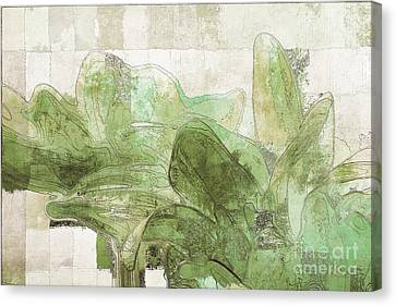Canvas Print featuring the digital art Gerberie - 30gr by Variance Collections