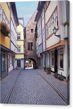 German Bridge Canvas Print