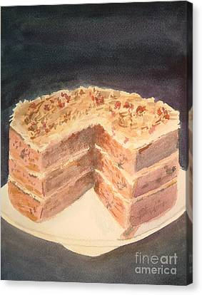 German Chocolate Cake Canvas Print