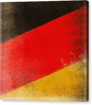 German Flag Canvas Print by Setsiri Silapasuwanchai