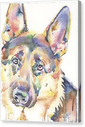 Canvas Print - German Shepherd by Ruth Hardie