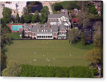 Germantown Cricket Club 3 Canvas Print by Duncan Pearson
