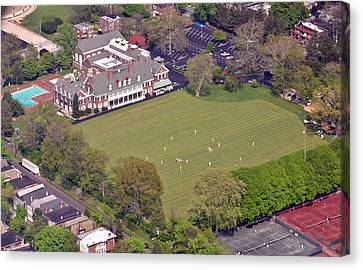Germantown Cricket Club Cricket Festival Canvas Print by Duncan Pearson