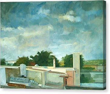 Germantown Rooftops Canvas Print