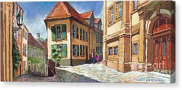 Germany Baden-baden 04 Canvas Print by Yuriy  Shevchuk