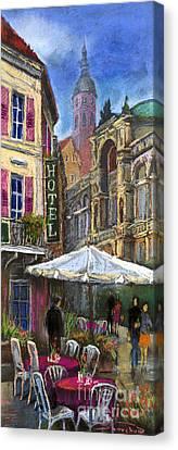 Germany Baden-baden 07 Canvas Print by Yuriy  Shevchuk