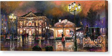 Germany Baden-baden 14 Canvas Print by Yuriy  Shevchuk