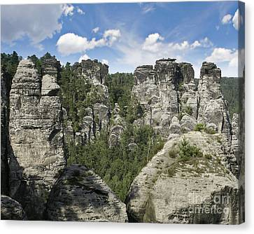 Germany Landscape Canvas Print