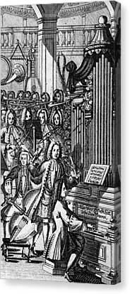 Germany: Orchestra, 1732 Canvas Print by Granger