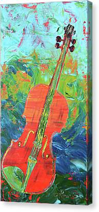 Gerry's Violin Canvas Print