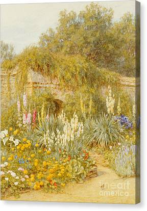 Gertrude Jekyll's Garden, Munstead Wood Canvas Print