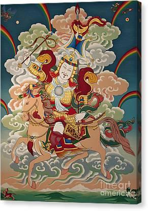 Gesar Gyalpo Canvas Print