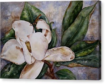 Canvas Print featuring the painting Get A Grip by Mary McCullah
