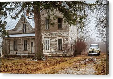Transportion Canvas Print - Get Away Car by Dan Fearing