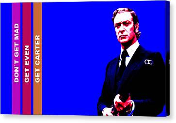 Get Carter Movie Canvas Print - Get Carter by Martin James