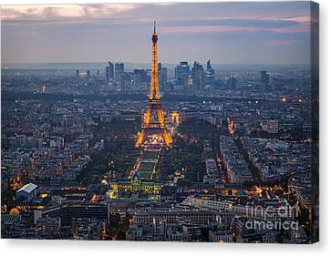 Get Ready For The Show Canvas Print by Giuseppe Torre