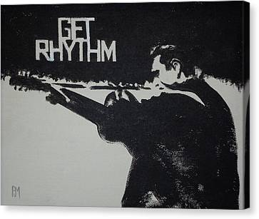 Get Rhythm Canvas Print by Pete Maier