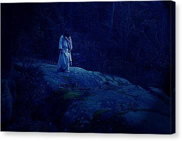 Gethsemane Canvas Print by Vienne Rea