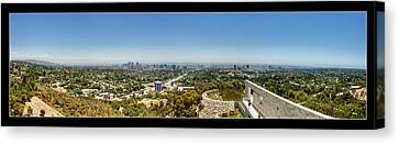 Brentwood Canvas Print - Getty Panorama by Ricky Barnard