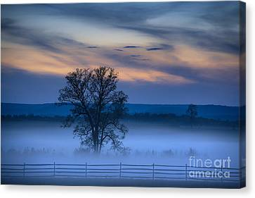 Gettysburg Blues Canvas Print by John Greim