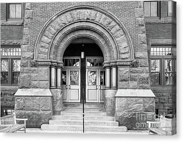 Gettysburg College Glatfelter Hall Entry Canvas Print