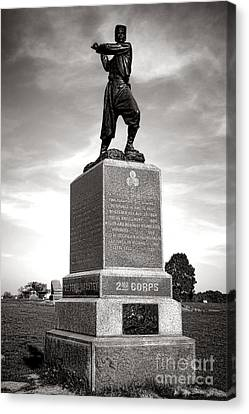 Gettysburg National Park 72nd Pennsylvania Infantry Monument Canvas Print by Olivier Le Queinec