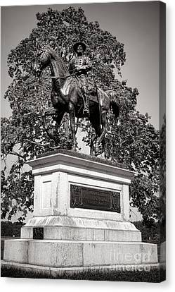 Gettysburg National Park John Fulton Reynolds Monument Canvas Print by Olivier Le Queinec