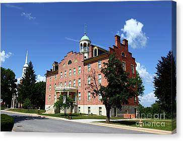 Gettysburg Theological Seminary Schmucker Hall Canvas Print by James Brunker