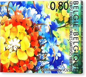 Ghent Flower Show Canvas Print by Lanjee Chee