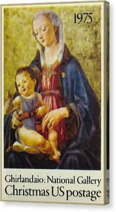 Culture Canvas Print - Ghirlandaio - Madonna And Child by Lanjee Chee
