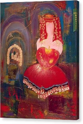 Ghismonda Canvas Print