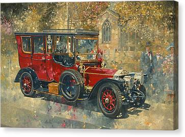 Ghost - Hawton Canvas Print by Peter Miller
