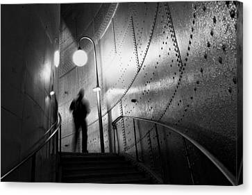 Metro Canvas Print - Ghost by Art Lionse