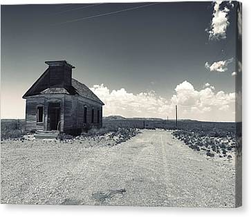 Ghost Church Canvas Print
